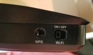 WPS & WiFi Disable Switch