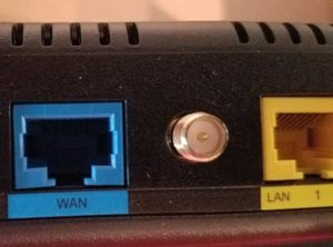 Synology Router WAN (Internet) Port