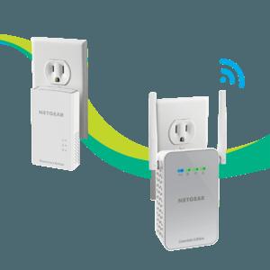 Netgear PLW1010-Essentials-Edition Powerline WiFi Extender